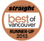 GS Best of Vancouver 2013 Runner Up