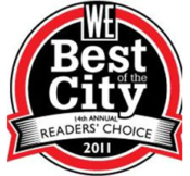 WE Best of the City 2011