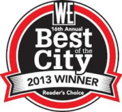 WE Best of the City 2013
