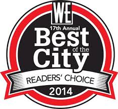 WE Best of the City 2014