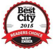 WE Best of the City 2015