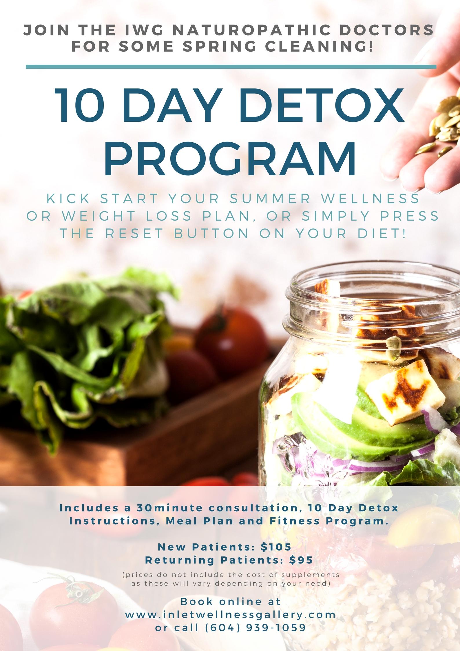 10 Day Detox details